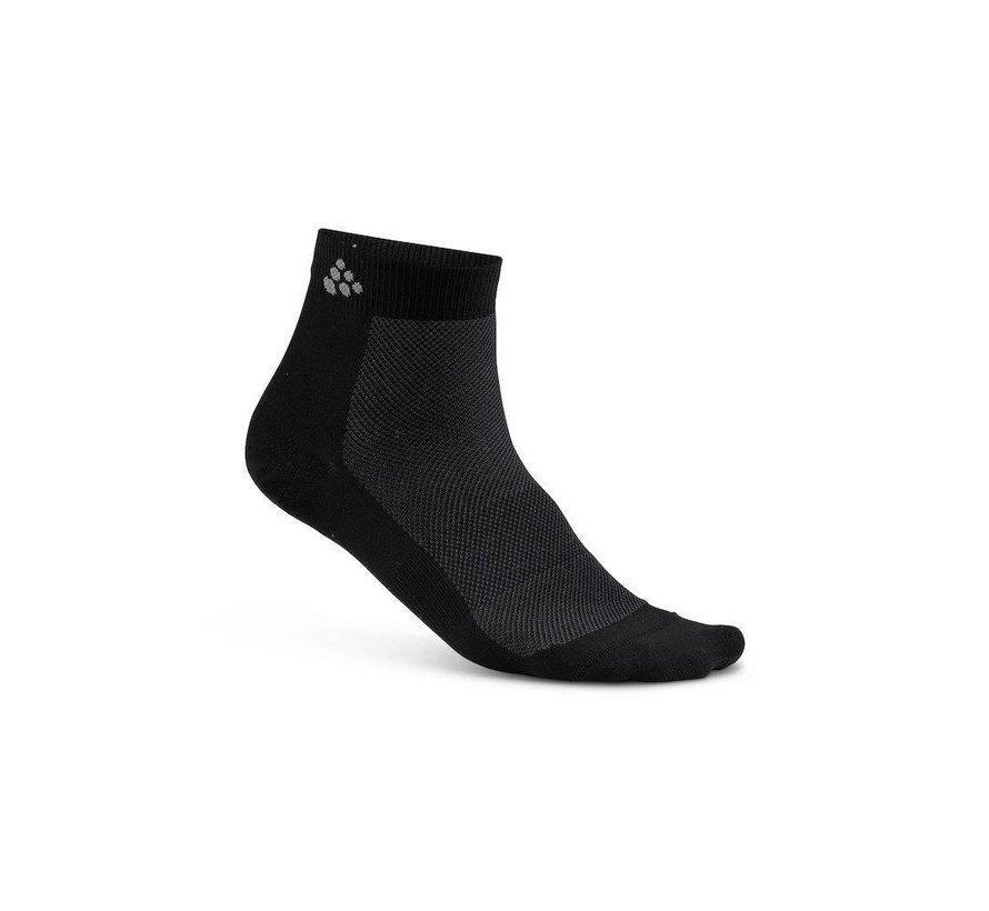 Craft Greatness Mid Sock Black (3 pair)