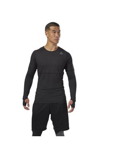Reebok Reebok Thermowarm Longsleeve Schwarz Herren Thermal Shirt