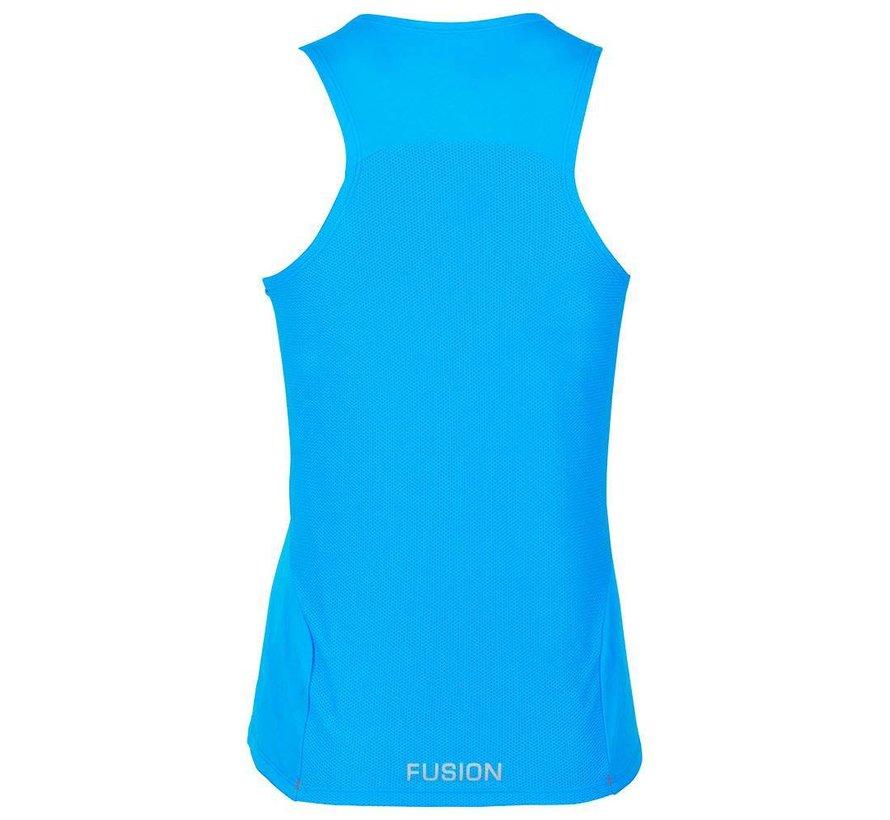 Fusion C3 Singlet Ladies Light Blue