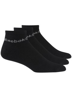 Reebok Reebok Active Core Ankle Socks Black (3 pairs)