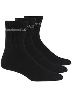 Reebok Reebok Active Core Sports Socks Black (3 pairs)