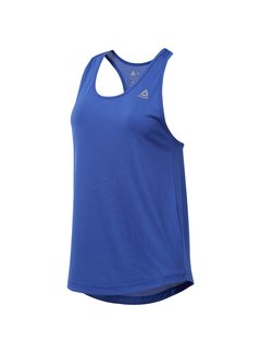 Reebok Reebok Performance Mesh Top Dames Blauw