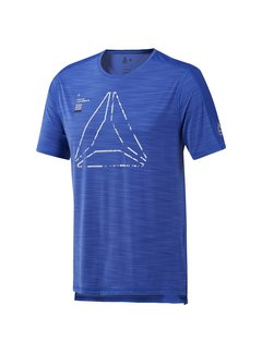 Reebok Reebok Training Activchill Graphic T-Shirt Heren Blauw