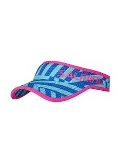 Salming Salming Run Visor Blauw/Roze