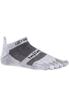 Injinji Injinji Run Lightweight No Show Teensocks Gray