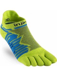 Injinji Injinji Ultra Run No Show Toe Socks Lime