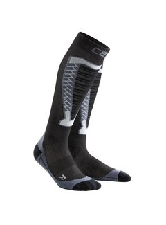 CEP CEP Obstacle Run Compression stockings Anthracite Ladies