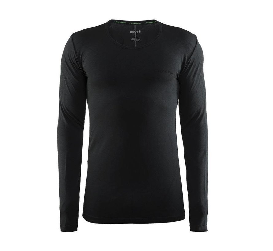 Craft Active Comfort Longsleeve Shirt Black Men