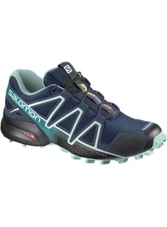 Salomon Salomon Speedcross 4 Wide Trailrunschoen Blauw Dames