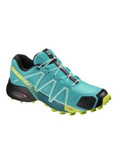 Salomon Salomon Speedcross 4 Trailrunschoen Lichtblauw