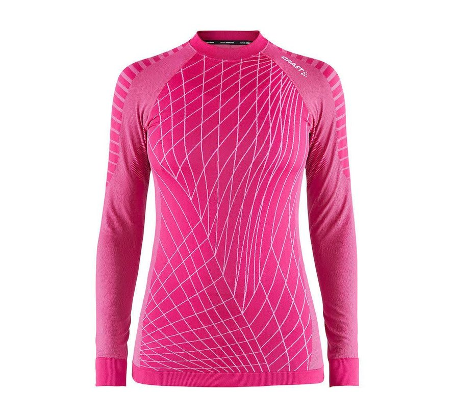 Craft Active Intensity Longsleeve Shirt Rosa Damen