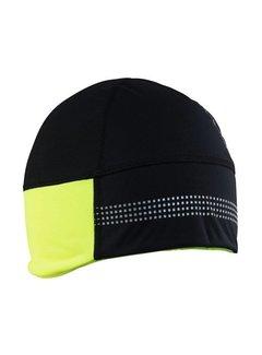 Craft Craft Shelter Hat 2.0 Black / Yellow Winter Hat
