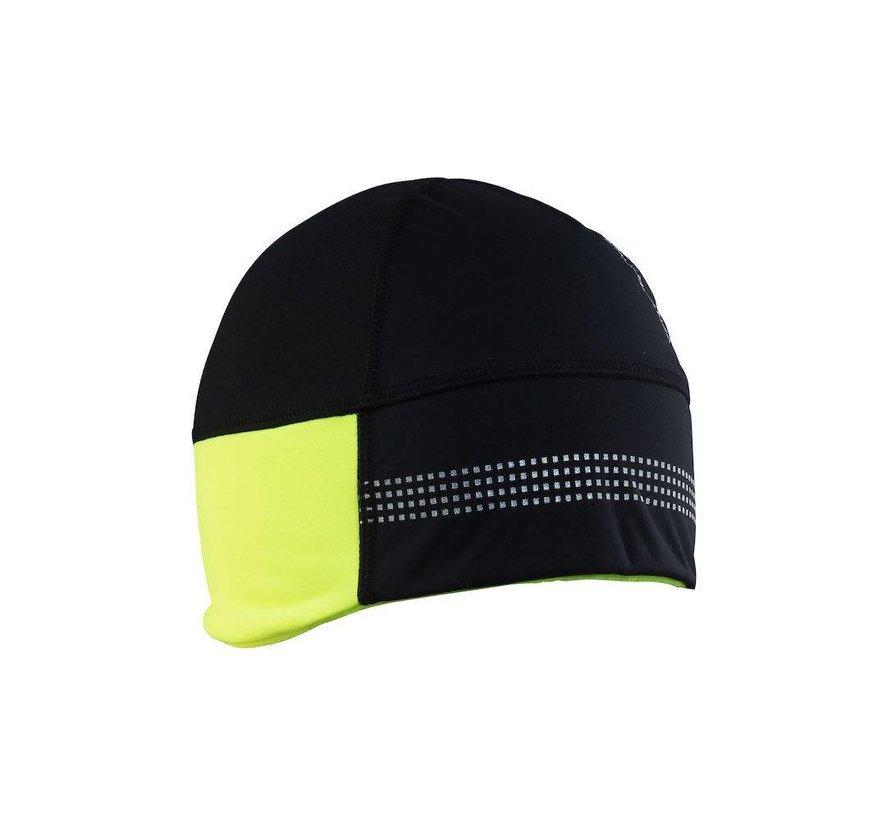 Craft Shelter Hat 2.0 Schwarz / Gelb Wintermütze