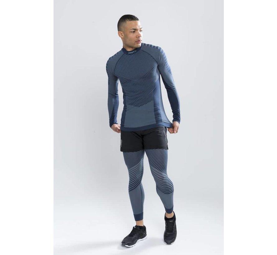 Craft Active Intensity Langarmhemd Blau Grau Herren