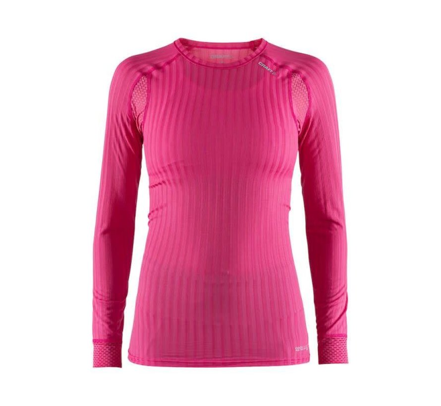 Craft Active Extreme 2.0 Long Sleeve Thermal Shirt Pink Ladies