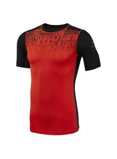 Reebok Reebok Activechill Graphic Compression Shirt Carotene