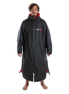Dryrobe Dryrobe Advance Longsleeve Zwart/Rood