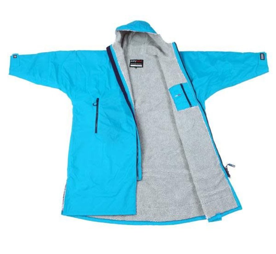 Dryrobe Advance Longsleeve Lichtblauw/Grijs