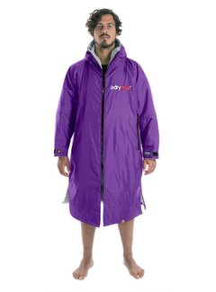 Dryrobe Dryrobe Advance Longsleeve Purple / Gray
