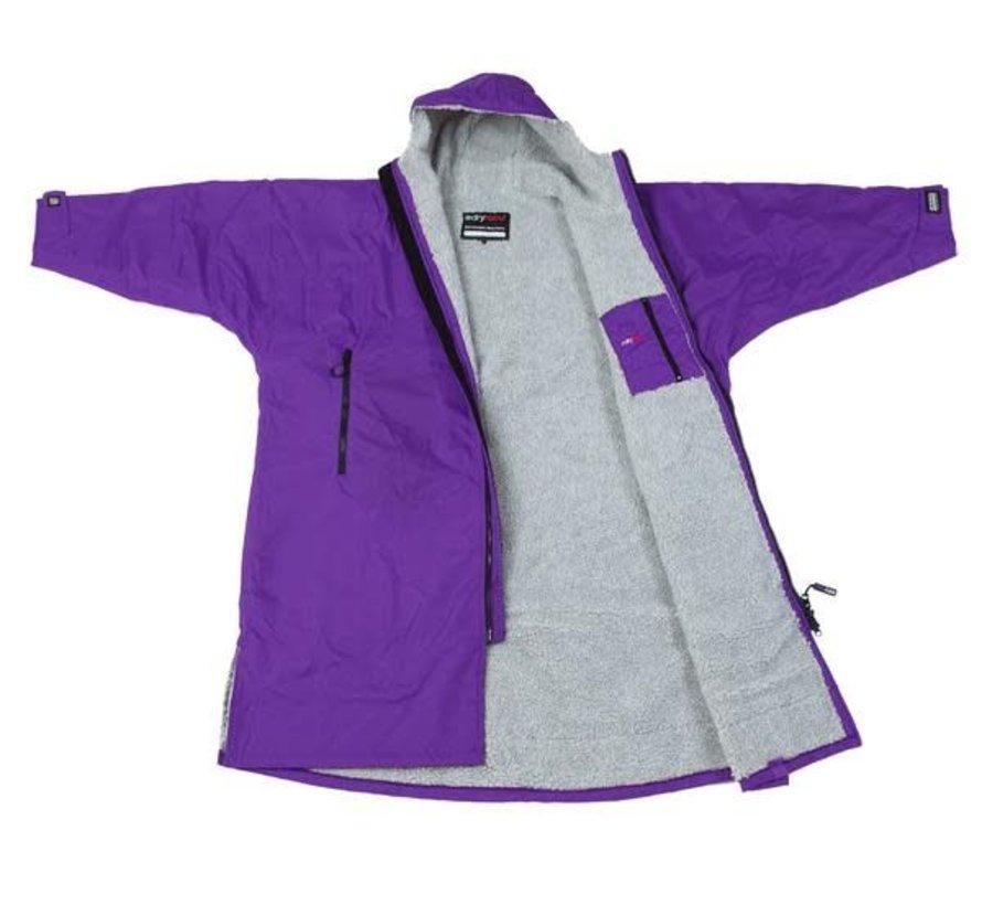 Dryrobe Advance Longsleeve Lila / Grau