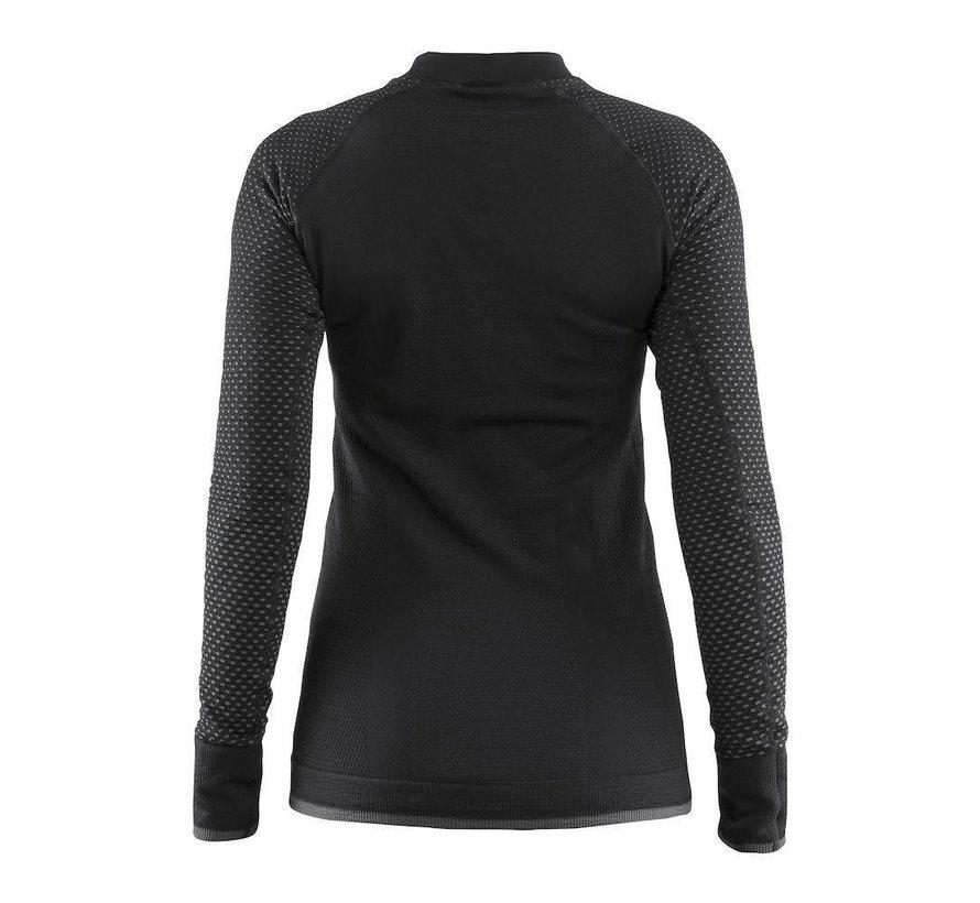 Craft Warm Intensity Longsleeve Shirt Schwarz Damen