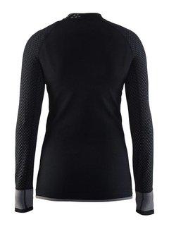 Craft Craft Warm Intensity Longsleeve Shirt Zwart/Grijs Dames