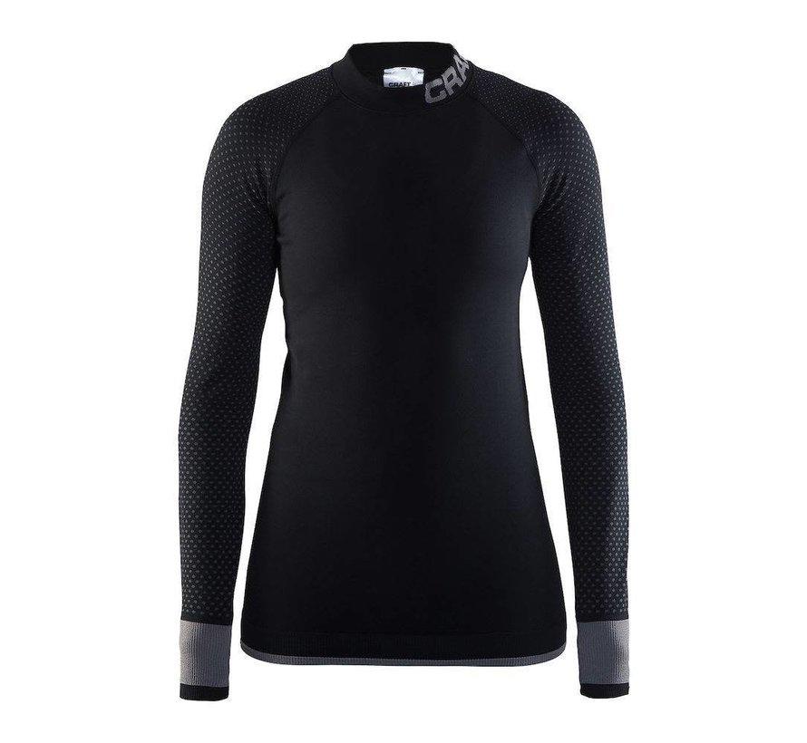Craft Warm Intensity Longsleeve Shirt Schwarz / Grau Damen