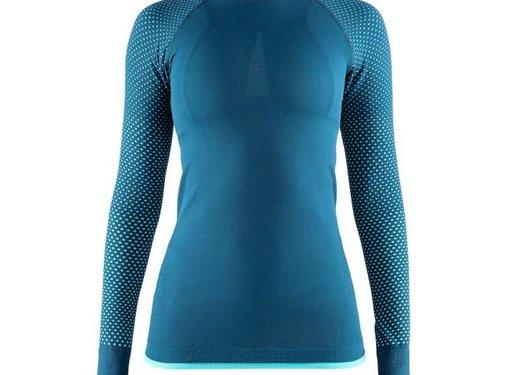 Craft Craft Warm Intensity Longsleeve Shirt Dames Blauw
