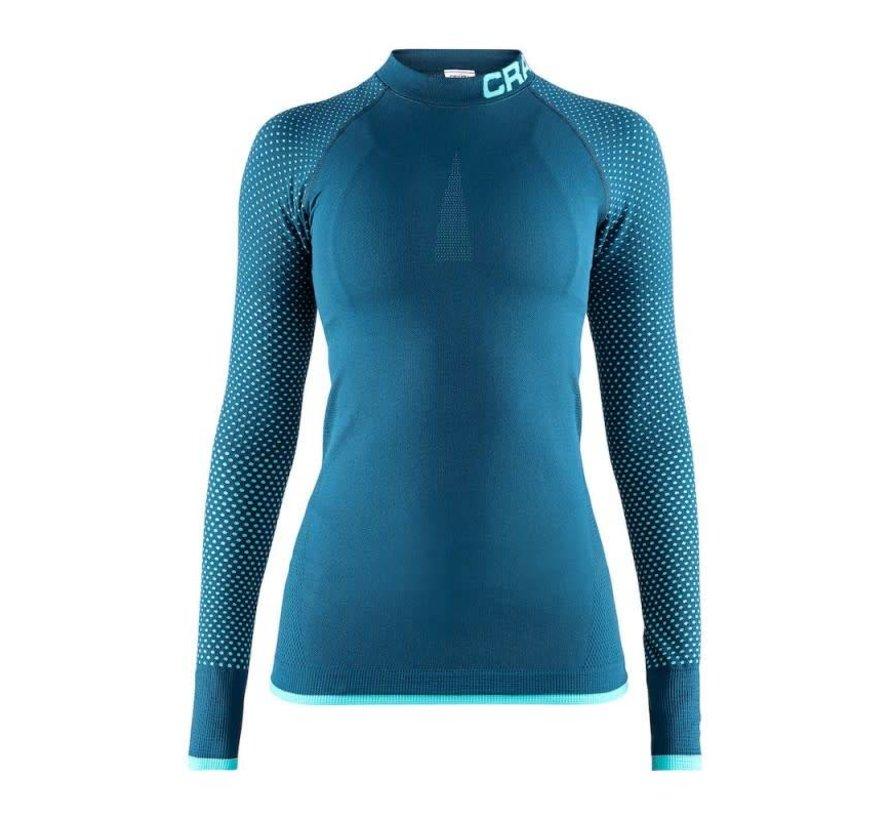 Craft Warm Intensity Longsleeve Shirt Ladies Blue