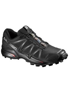 Salomon Salomon Speedcross 4 Wide Trailrunschoen Zwart