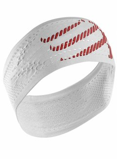 Compressport Compressport Headband Ein / Aus Weiß