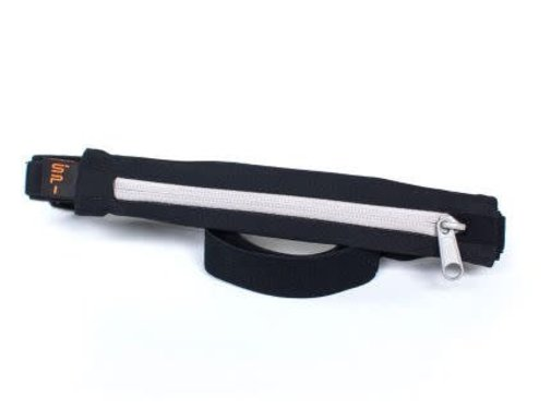 SPIbelt SPIBelt Large Pocket Running Belt Black / Titanium 8.9