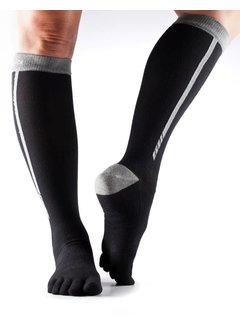 Toe Sox Toesox Zoe Sport Compression Tennis Socks Black