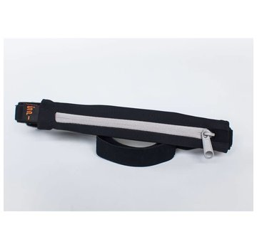 SPIbelt SPIBelt Performance Hardloopriem Zwart/Titanium