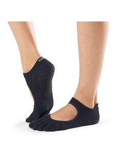 Toe Sox Toesox Plié Full Toe Black Toe Socks