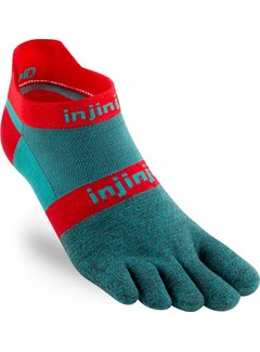 Injinji Injinji Run Leichte Aquaberry-Zehensocken