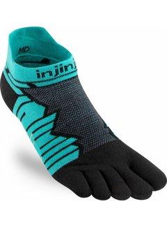 Injinji Injinji Ultra Run No Show Toe Socks Oasis