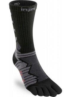 Injinji Injinji Ultra Run Crew Obsidian Toe Socks