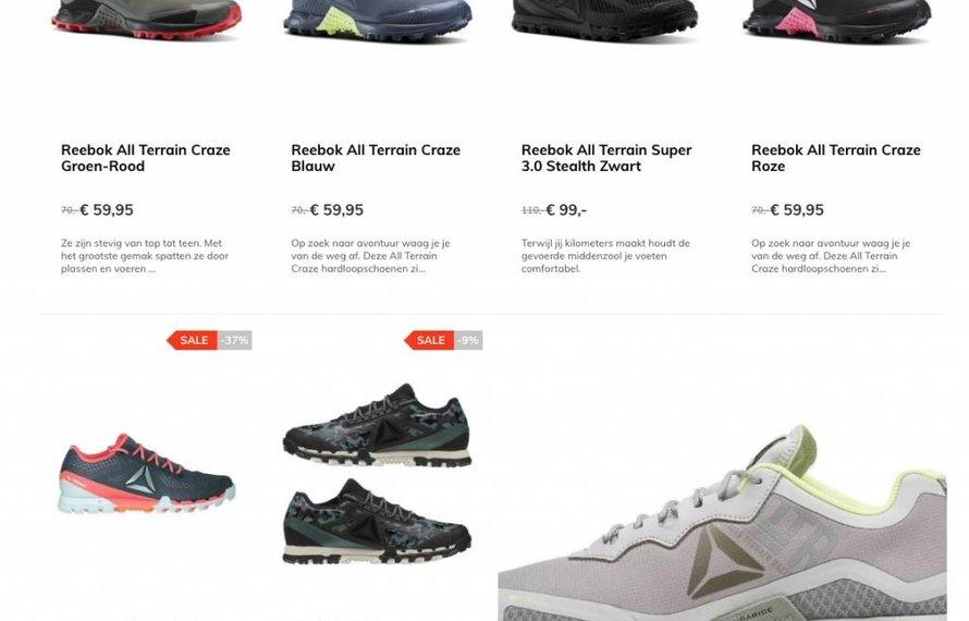 Korting Reebok All Terrain Serie schoenen