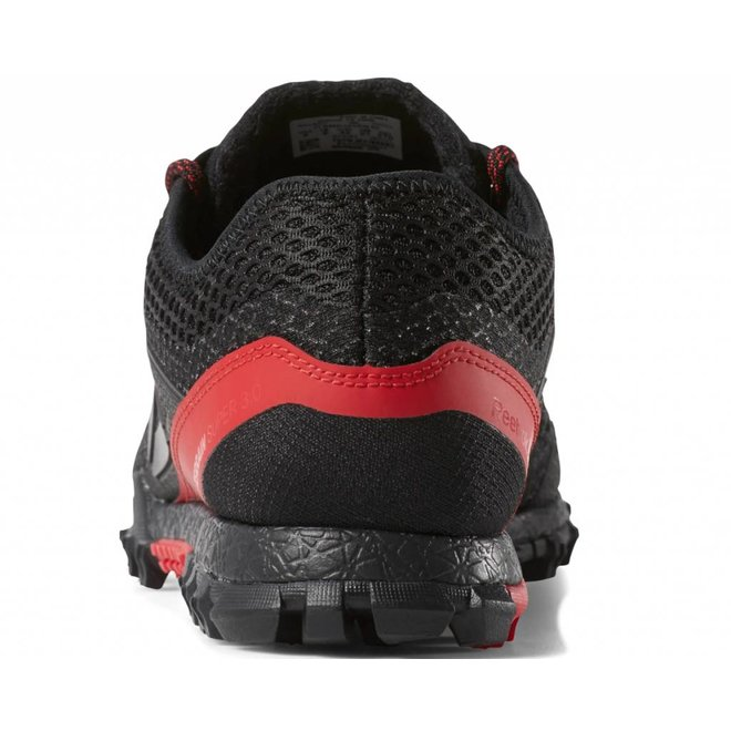 Reebok All Terrain Super 3.0 Obstacle Run Shoe Black / Red