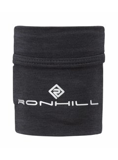 Ron Hill Ron Hill Stretch Wrist Pocket Running Wristband Black