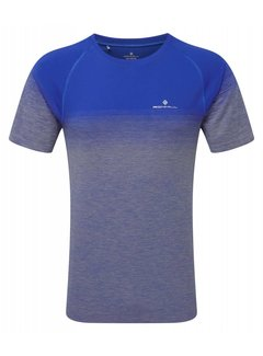 Ron Hill Ron Hill Infinity Marathon Shirt - Azurite Marl