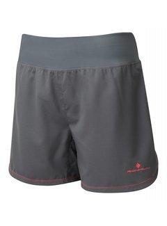 Ron Hill Ron Hill Stride Cargo Short Running Shorts Ladies Dark Gray / Pink