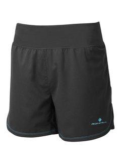 Ron Hill Ron Hill Stride Cargo Short Running Shorts Ladies Black / Blue