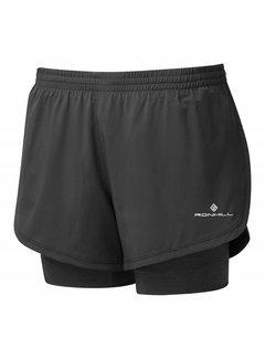 Ron Hill Ron Hill Stride Twin Short Running Shorts Ladies Black