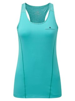 Ron Hill Copy of Ron Hill Stride Tank - Peacock/Charcoal