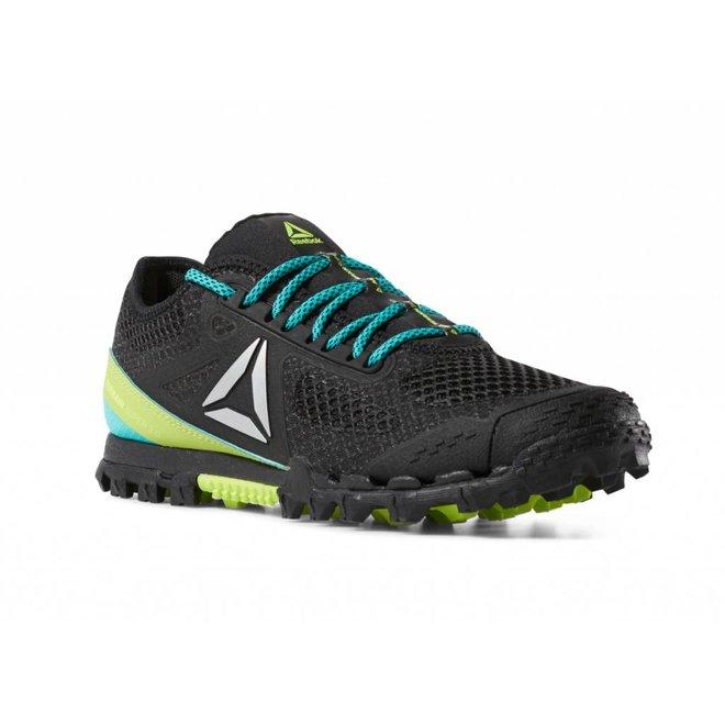 Reebok All Terrain Super 3.0 Obstacle Run Shoe Black / Lime