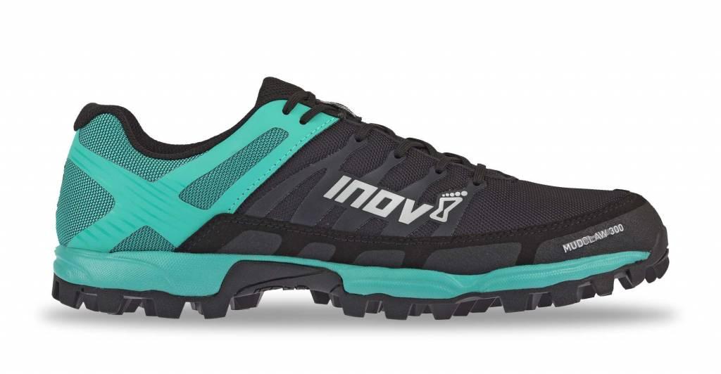 1ab5a1ac0a4 Inov-8 Mudclaw 300 Zwart/Blauw Trailrunschoen Dames - Dutch Mud Men