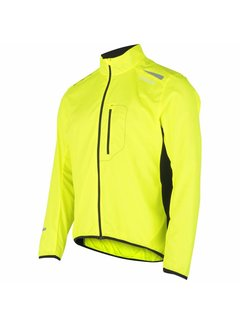 Fusion Fusion S1 Run Jacket Men Yellow Running Jacket Water-repellent
