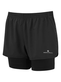Ron Hill Ron Hill Marathon Twin Short - Zwart